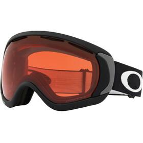 Oakley Canopy Lunettes de ski, matte black/w prizm rose